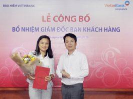 VBI bổ nhiệm giám đốc ban khách hàng