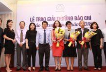 Hiệp hội bảo hiểm trao giải thưởng báo chí