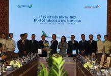 Pjico bảo hiểm Bamboo Airline
