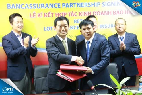 Hợp tác bảo hiểm PTI và Lotte