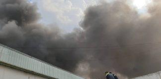 Cháy lớn khu công nghiệp