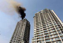 Vây ngân hàng bảo hiểm cháy nổ chung cư