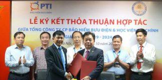 Bảo hiểm PTI hợp tác HVTC