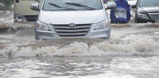 Bồi thường bảo hiểm ô tô trước mưa lũ