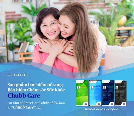 Bảo hiểm sức khỏe Chubb Care