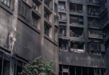 Cháy chung cư Đài Loan